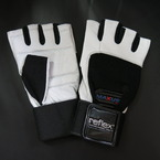 Black & White Gloves (with wrist support)